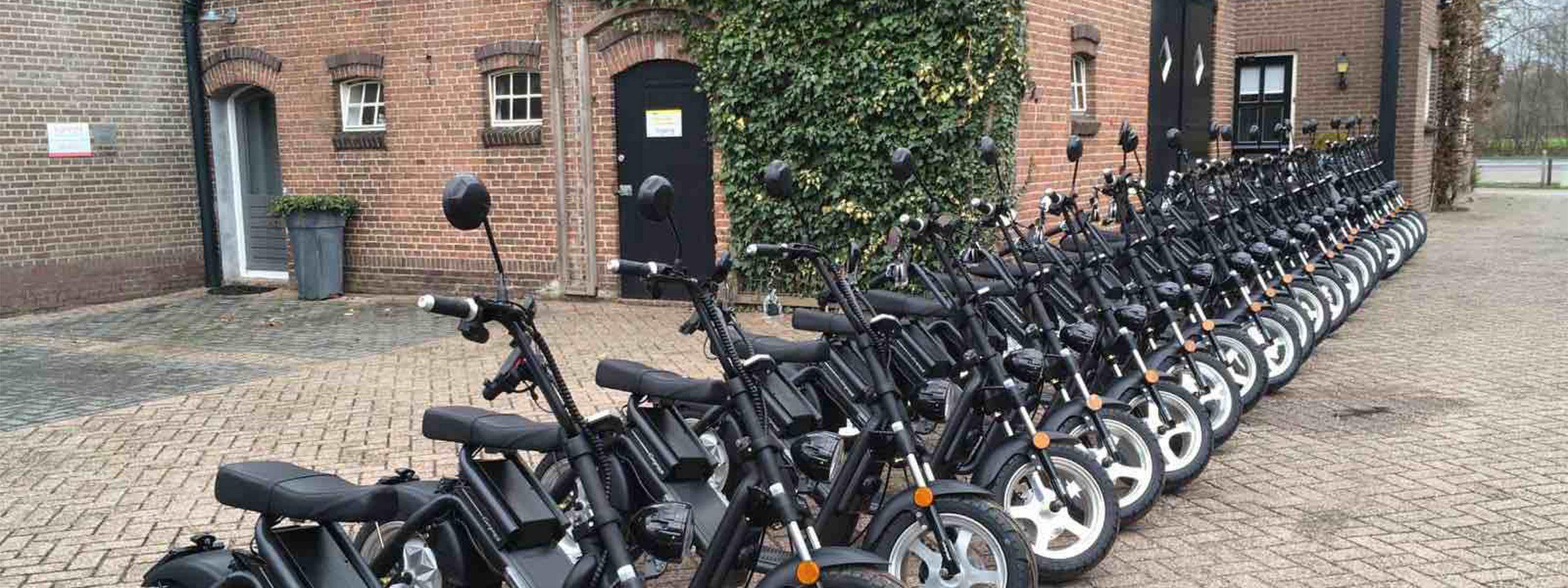eindhoven-bedrijfsuitje -scooter-tour