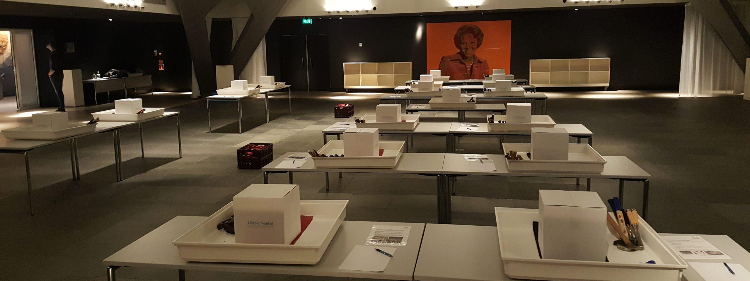 eindhoven-bedrijfsuitje-workshop-ijssculpturen